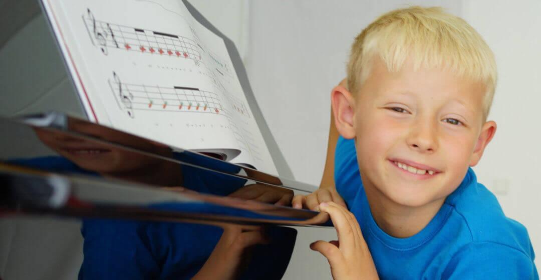 klaverleg i musikskolen