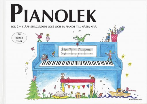Pianolek bok 2 – släpp spelglädjen loss och ta pianot till nästa nivå