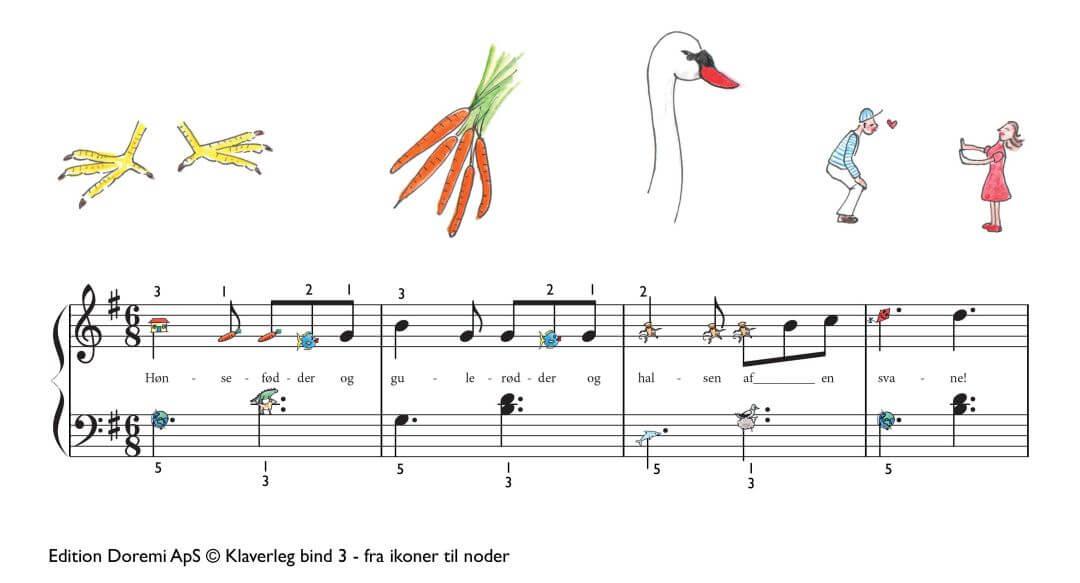 Hønsefødder og gulerødder