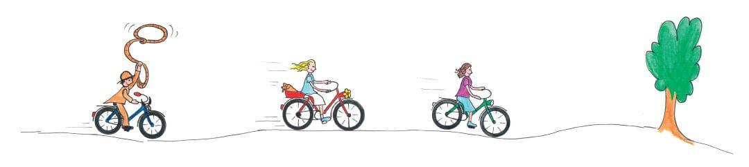 Jeg er saa glad for min cykel