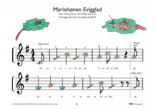 Mariehoenen Evigglad Bind 1