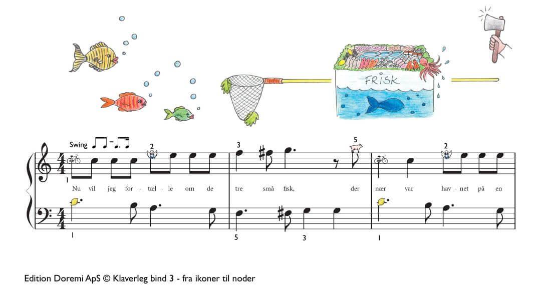 Historien om de tre små fisk